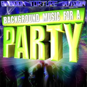 background music for a party album cover